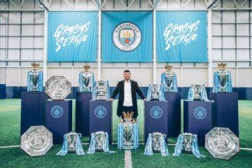 Aguero sends emotional message to Man City fans ahead of Etihad farewell