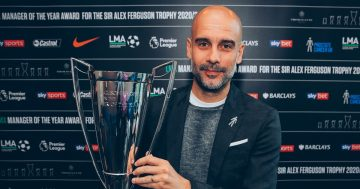 Manchester City boss Pep Guardiola named LMA Manager of the Year