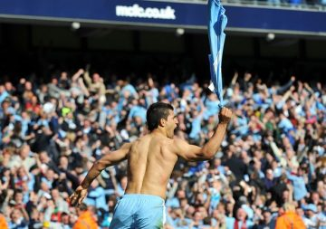This is the story of Sergio Aguero's Man City career