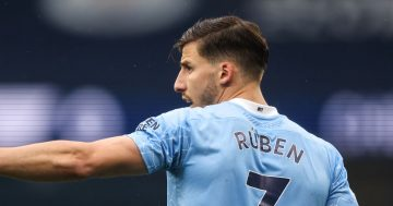 Dias makes Man City vow after winning Player of the Year award