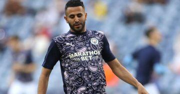 Mahrez confirms stance on Man City future after Algeria goal
