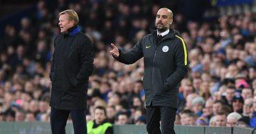 Man City manager Pep Guardiola sends Barca boss Ronald Koeman message