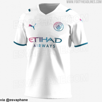 Man City new 2021/22 home, away and third shirt kit details 'leaked'