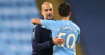 Pep Guardiola says Eric Garcia could become Barcelona captain