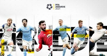 Phil Foden and three other Man City players on PFA POTY shortlist