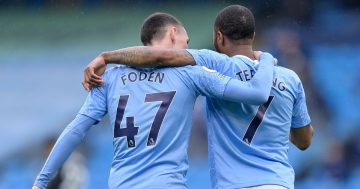 Phil Foden explains why Raheem Sterling is his Man City role model