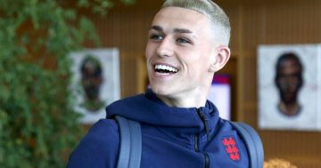 Phil Foden relishing Gascoigne comparisons after debuting new blond hair