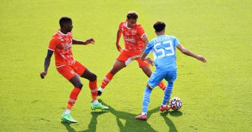 Guardiola hails 'incredible' Edozie after teenager's third goal in three games