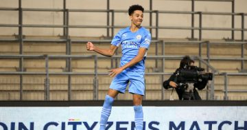 'Has to play' - Man City fans go wild as star teenager Samuel Edozie continues scoring run