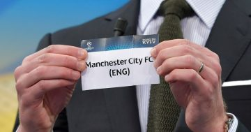 Man City's possible opponents in this season's Champions League group stage