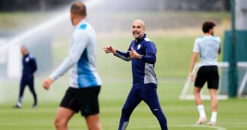 Pep Guardiola sets out how Man City players have impressed in training