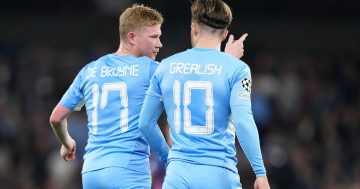 'Feels like cheating' - Man City fans excited by Grealish and De Bruyne link up after Leipzig win