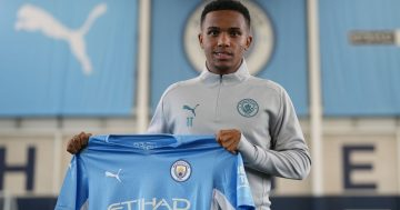 Kayky introduces himself to fans as he gets Man City career started