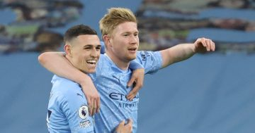 Man City fans delight in images showing Phil Foden on road back to first team