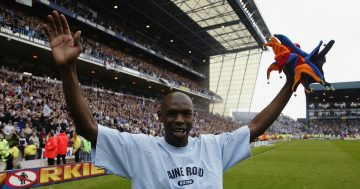 Shaun Goater reflects on his final Man City appearance and hails fans for Southend send-off